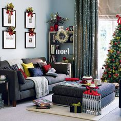 Image detail for -... Christmas Living-room-christmas-decorating – Modern Kitchen Design
