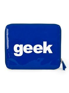Geek iPad Case $18.00 with Free Shipping on # Vault.com