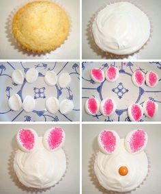 Cupcakes Fofinhos e fáceis para Páscoa
