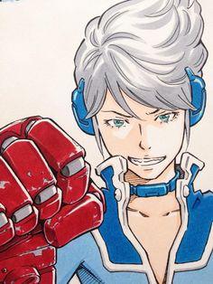 コピックでアニメっぽく着彩 by Eisaku