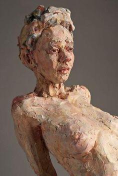 Sculptures by Debra Balchen by haley Ceramic Sculpture Figurative, Sculpture Clay, Aesthetic Objects, Ceramic Figures, Ancient Art, Female Art, Art Pictures, Sculpting, Fantasy Art
