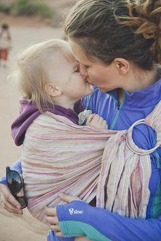 olya and ivy STYLE #babywearing
