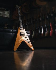 Carter Vintage Guitars (@cartervintageguitars) • 1958 Korina Flying V