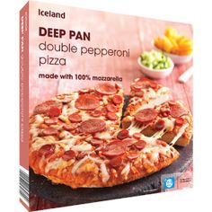 Iceland Deep Pan Double  pizzas £1 Deep Pan, Emo Goth, Nerd Geek, 7th Birthday, Pepperoni, Grocery Store, Punk Rock, Iceland, Room Ideas