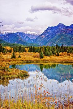 'First Snow', Cabinet Mountains and Bull River, Montana; photo by Albert Seger