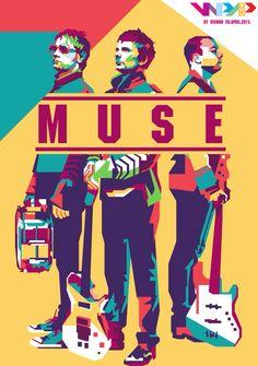 #muse #band #legend #music #rock #alternatif #england #indonesia #popart #style…