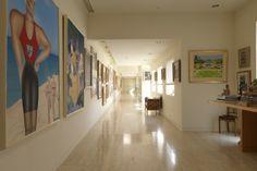 【スライドショー】作家ジャッキー・コリンズ氏の自宅―有名な絵画にヒント得る - WSJ.com