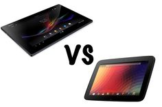 SONY Xperia Tablet Z vs NEXUS 10! A smackdown of two 10 inch tablets #tablet #Android