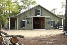 love the colors... Would be awesome style for a kennel Ref. #3647 Morton buildings Equestrian building :D Gorgeous!!!!