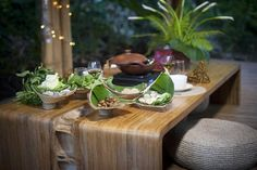 Green Village has its own warung that serves delicious Balinese and international fare made right from the produce in their gardens, and they're open to the public!
