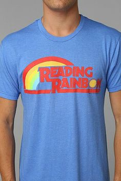 Reading Rainbow Tee - Urban Outfitters
