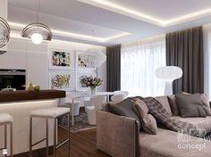Salon styl Nowoczesny - zdjęcie od MAJER concept - Salon - Styl Nowoczesny - MAJER concept