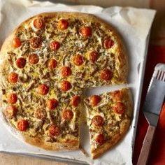Boodschappen - Plaatpizza met shoarma en ei