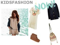 Bohemian style for kids | Kidsfashion NOW | Ibiza style