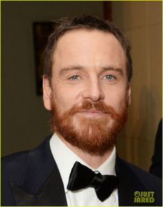 michael fassbender luke evans make us swoon at baftas 2014 04 Michael Fassbender shows off his scruffy beard while attending the 2014 British Academy Film Awards after party held at The Grosvenor House Hotel on Sunday (February…