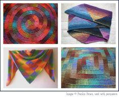 modular knitting | Frankie Brown modular knitting designs, perfect for mini-skeins