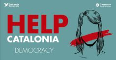Help Catalonia. Democracy.  #votarem
