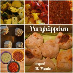 Partyhäppchen vegan by AURELIA