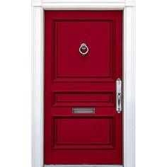 Modern Masters Express Yourself 1 qt. Satin Spiritual Purple Water-Based Front Door Paint - 275261 - The Home Depot Purple Front Doors, Front Door Paint Colors, Purple Door, Painted Front Doors, Red Doors, Coral Door, Wall Colors, Exterior Door Colors, Exterior Doors