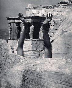 Therese Duncan-Reaching Arms-The Parthenon 1921, Edward Steichen