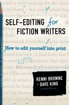 Self-Editing for Fiction Writers, Second Edition: How to Edit Yourself Into Print by Renni Browne, http://www.amazon.com/dp/0060545690/ref=cm_sw_r_pi_dp_eKujsb0FMYQGH
