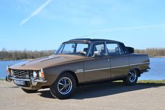 Wonderful Rover P6 3500 automatic - 1975. Classic Cars British, British Car, Vintage Cars, Antique Cars, Rover P6, First Time Driver, Cars Uk, Classic Motors, Top Cars