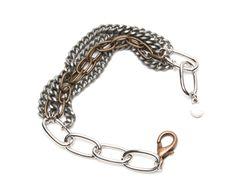 Mix Metal Bracelet, Unique Chin Bracelet ($15)