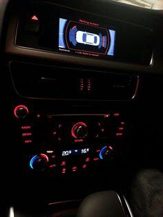 Dashboard of Audi A4