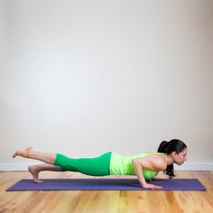 A yoga sequence to tone the abs and core