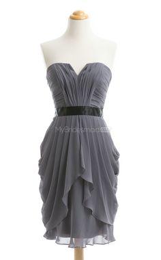New Arrive Sliver Short Bridesmaid Dress,Short Bridesmaid Dresses