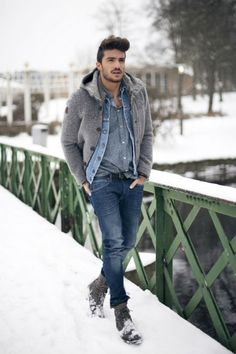 oo-la-la! Winter look #casualattiremensedition | Raddest Looks On The Internet: http://www.raddestlooks.net