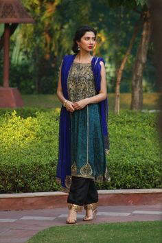 Mahira Khan wearing Feeha Jamshed in India