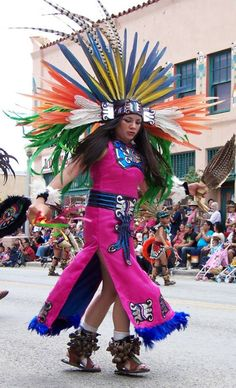 Aztec Dancer from Mexico