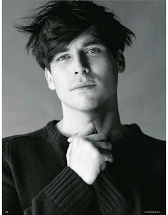 Rob James-Collier - by Bruce Weber for Vogue Germany January 2013 (Thomas on Downton Abbey)