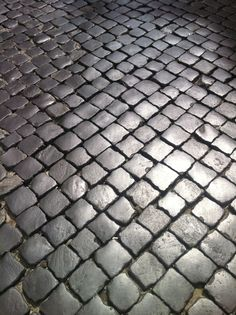 Roma, Italia Sidewalk, Places, Rome Italy, Side Walkway, Walkway, Walkways, Lugares, Pavement
