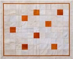 Alfombra en cuero premium argentino - Modelo Becky - ::: Design Carpets Alfombras :::