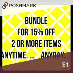 ????YOURS FOR THE ASKING????! Take advantage and save. Accessories