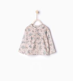 Floral print shirt - MUST HAVES - Baby girl | 3 months - 3 years - KIDS | ZARA United States