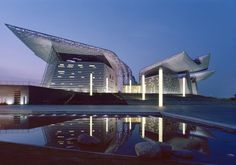 Wuxi Grand Theatre by PES-Architects, Finland