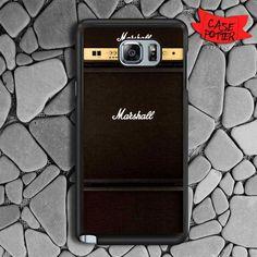 Marshall Jmd Amplifier Samsung Galaxy Note 5 Black Case