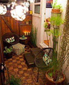 27 Ideas Apartment Patio Plants Tiny Balcony Decks For 2019 Apartment Balcony Decorating, Apartment Balconies, Apartment Plants, Apartment Backyard, Cozy Apartment, Apartment Ideas, Apartment Cost, Bohemian Apartment, Studio Apartment