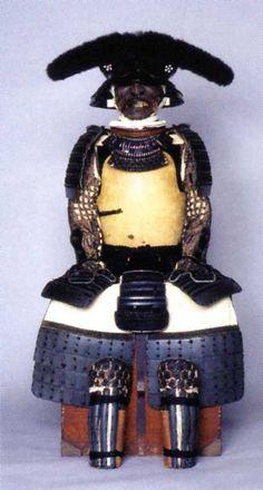 Satake Yoshinobu 佐竹 義宣 (1570 – 1633). 秋田初代藩主佐竹義宣は寛永十年(1633)、江戸神田屋敷で没しました、享年六十四歳。 佐竹義宣公着用の甲冑。(佐竹史料館リーフレットより)