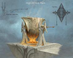 ArtStation - High Elf Anti Ram, Sven Bybee