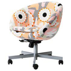 Office chairs -SKRUVSTA Swivel chair - Ankarsvik multicolour - IKEA