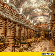 Epic Library In The Czech Republic