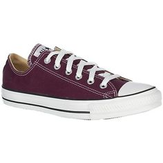 $50.00-$46.00 CONVERSE Women's All Star Specialty Ox (Grapewine 10.0 M) - Play just like the boys in your classic Converse All Star Specialty Ox sneakers.Canvas upper in a casual, low-top sneaker style with iconic round rubber-capped or leather-capped toeFull, lace-up frontAll Star logo accentsTextile lining and cushioned insoleVulcanized striped rubber midsoleRubber traction outsole http://www.amazon.com/dp/B0059BRBES/?tag=icypnt-20