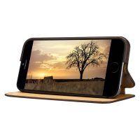 Púzdro vo forme stojana JISONCASE pre iPhone 6   6S z pravej kože e8d2b435ce6