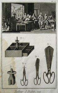 Encyclopédie – Materials & Their Makers Hem Stitch, Back Stitch, Renaissance, Sitting Cross Legged, Double Breasted Waistcoat, Court Dresses, Frock Coat, Point Lace, Back Pieces