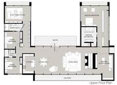 Resultado De Imagem Para Modern U Shaped Homes With Walled Interior  Courtyard