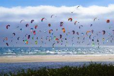 Kite Boarders of California Coast       http://onebigphoto.com/kite-boarders-of-california-coast/